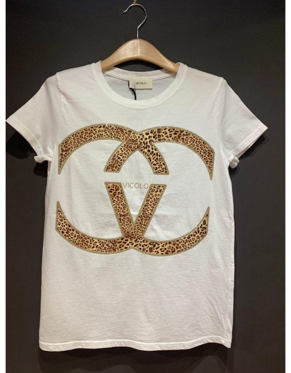 Samarreta amb símbol marca Vicolo de la marca VICOLO