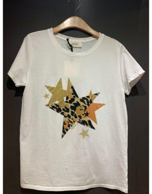 Samarreta amb estrelles de leopard estampades de la marca VICOLO