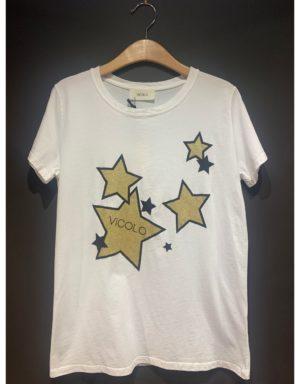 Samarreta amb estrelles estampades de la marca VICOLO